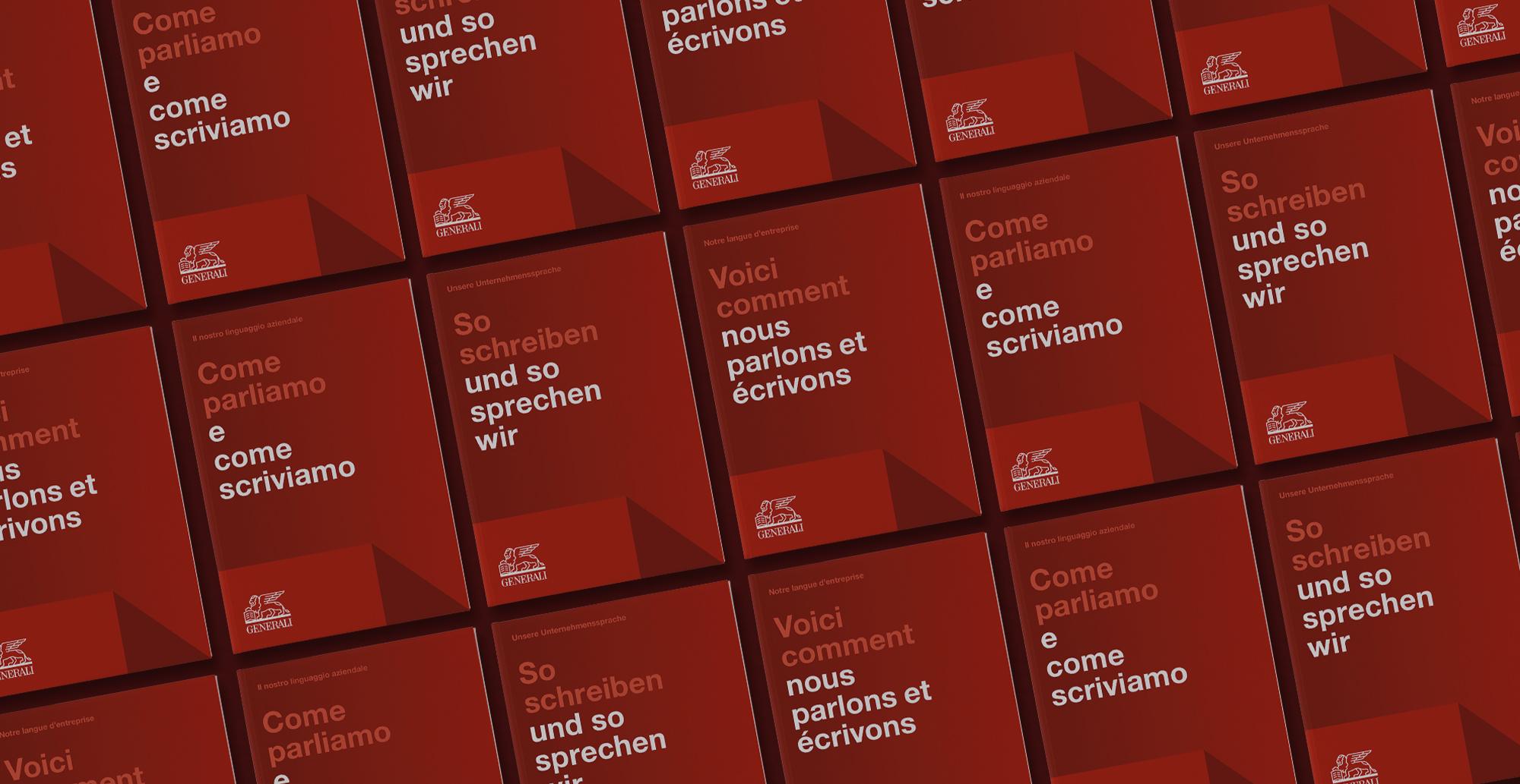 Übersicht der Cover in den drei Sprachen Deutsch, Französisch und Italienisch